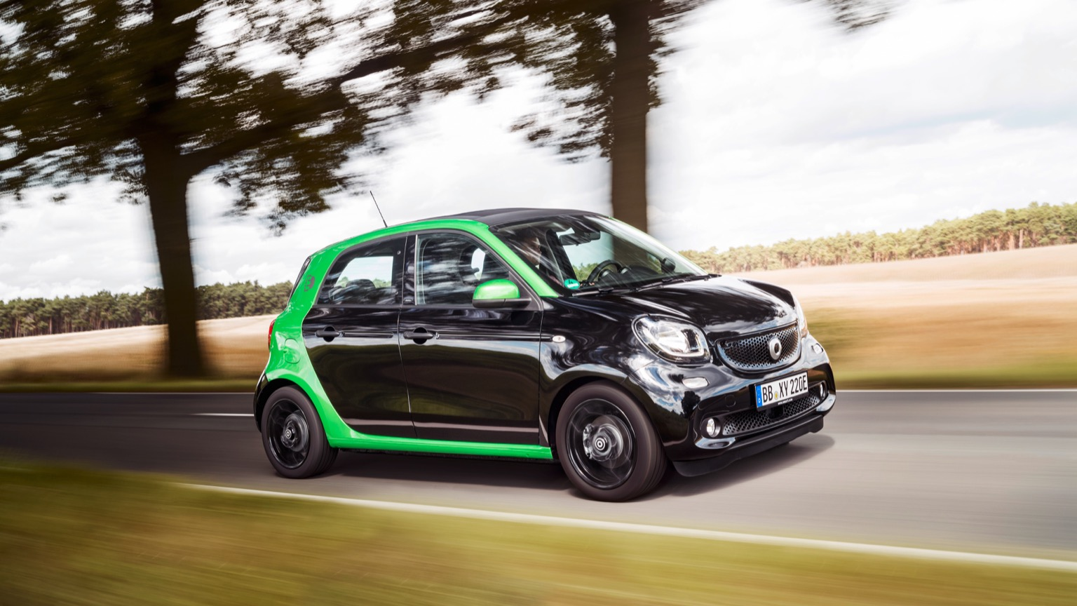 Smart Forfour Electric Drive 2017 2018 Prijs En Specificaties Ev