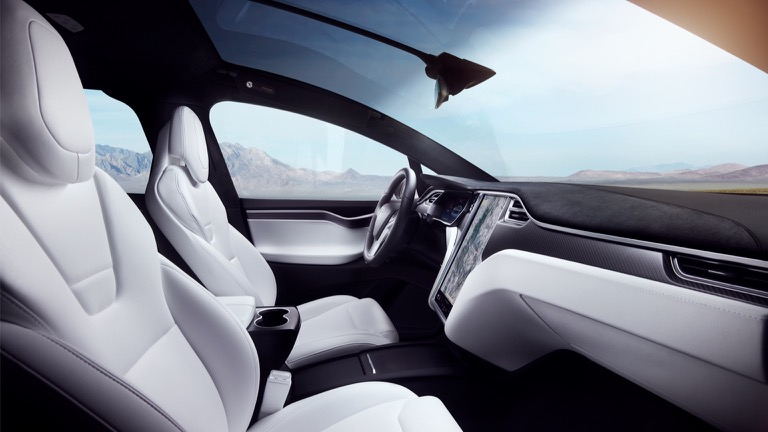 tesla model x p100d 2017 2019 prijs en specificaties ev database. Black Bedroom Furniture Sets. Home Design Ideas